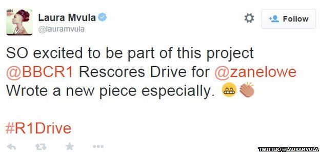 Laura Mvula tweet