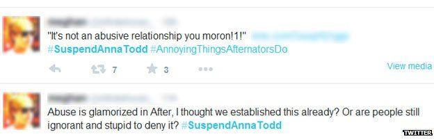 Twitter reaction to 1D fan book