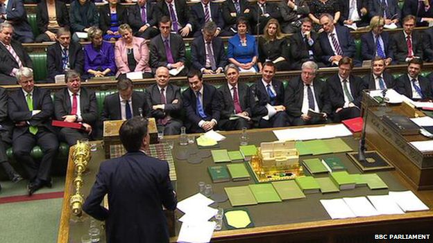 The picture of PMQs that was circulating on social media earlier this year