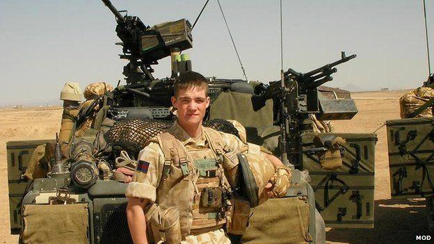 Guardsman Neil Downes