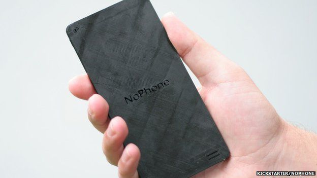 A picture of the NoPhone