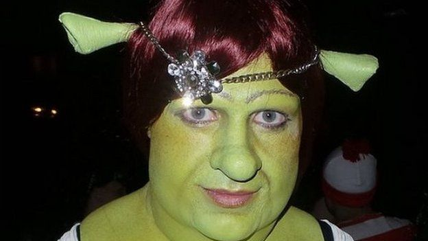 Celebrities Halloween Outfits Cheetos Shrek And Skunks Bbc Newsbeat