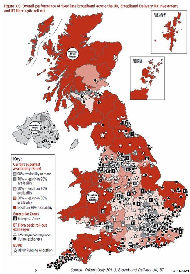 Broadband Coverage Map