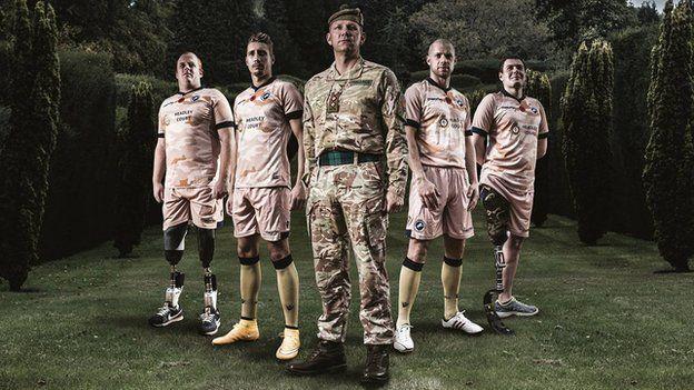 Millwall, football, army