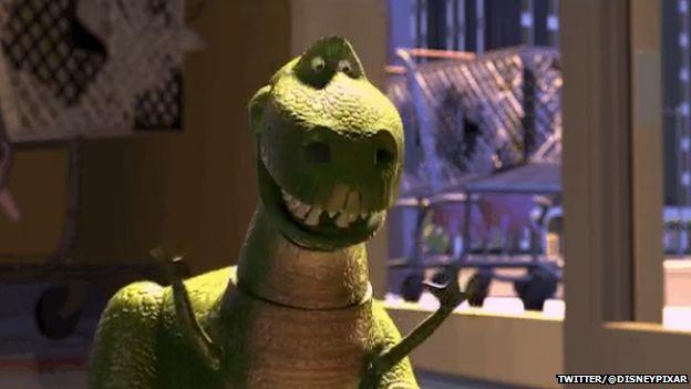 Toy Story dinosaur