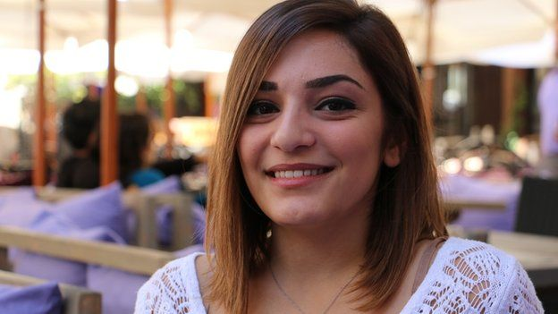 Lynn Khouri, 19, student