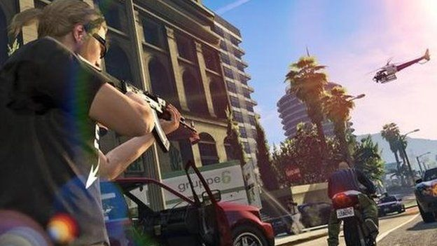 GTA V screen shot