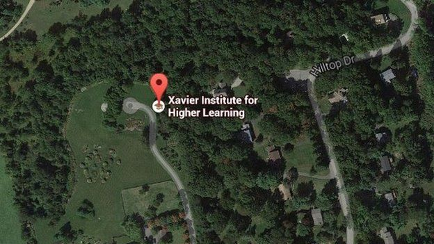 The school on Google Maps
