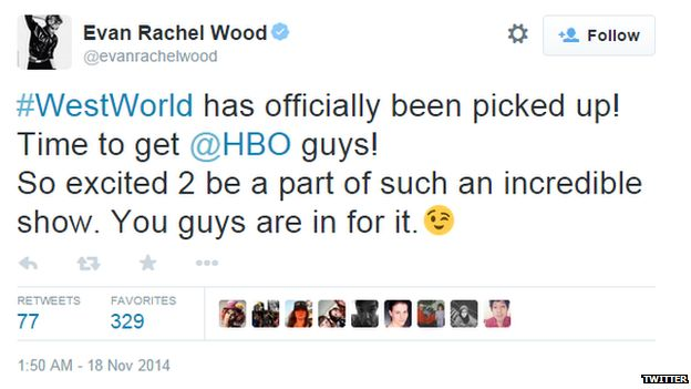 Evan Rachel Wood's Twitter