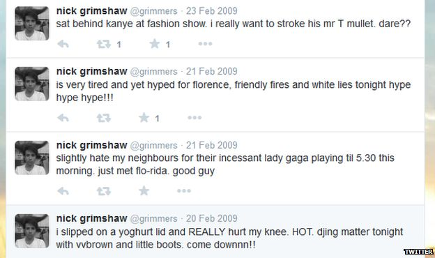 Grimmy's Twitter