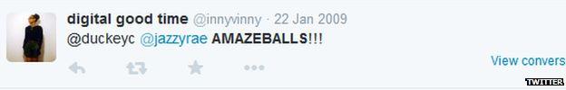 Amazeballs twitter