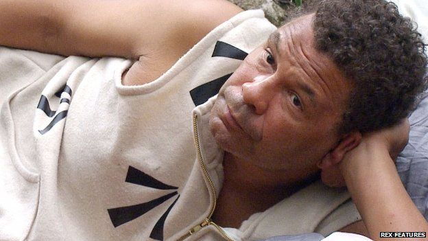 Craig Charles in the jungle
