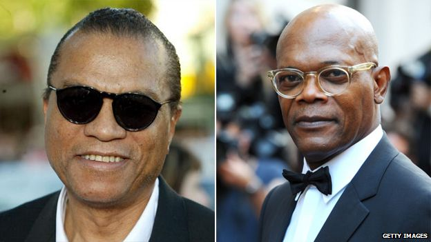 Billy Dee Williams and Samuel L Jackson
