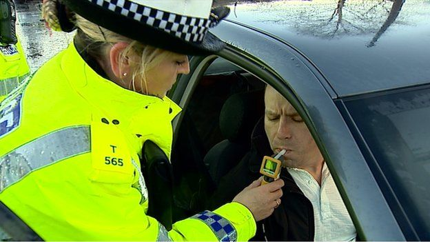 police breath test