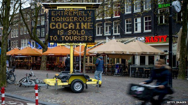 "Tourists are being warned in Amsterdam of ""extremely dangerous cocaine"" being sold"