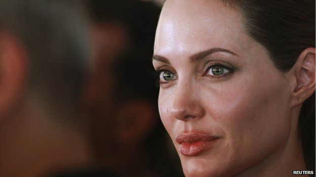 Angelina Jolie was also mentioned in the emails