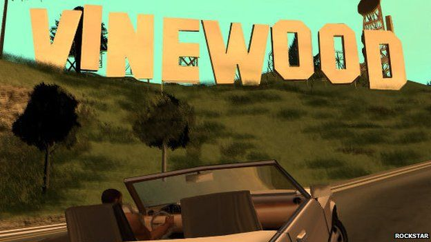 Image Caption A Genuine Screen Shot From Grand Theft Auto San Andreas First Released For The Playstation