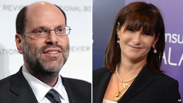 Scott Rudin and Amy Pascal