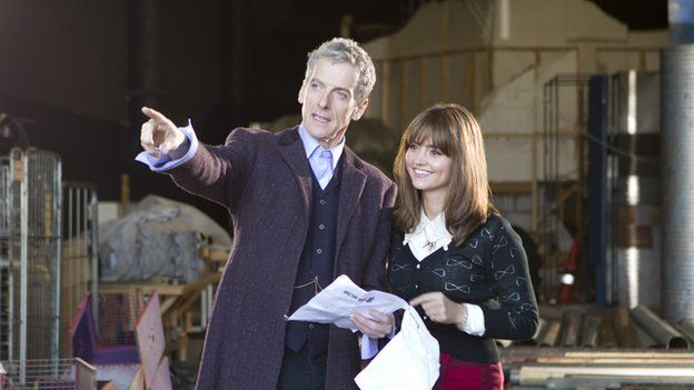 Behind the scenes of Doctor Who