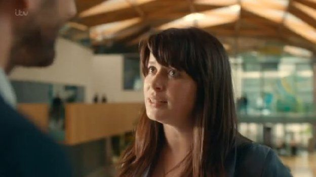 Eve Myles plays Claire Ripley