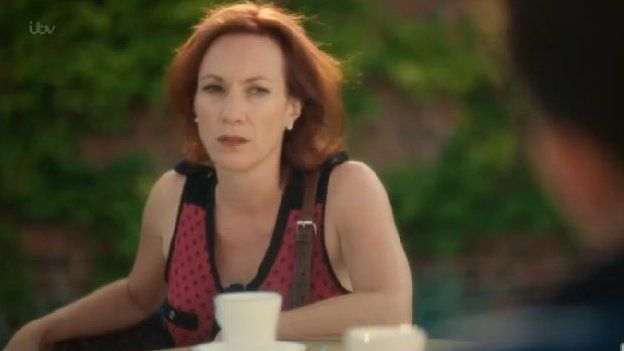 Lucy Stevens (played by Tanya Franks)