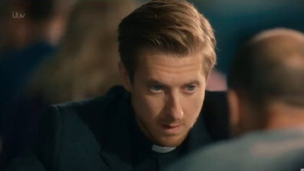 Rev Paul Coates (played by Arthur Darvill)