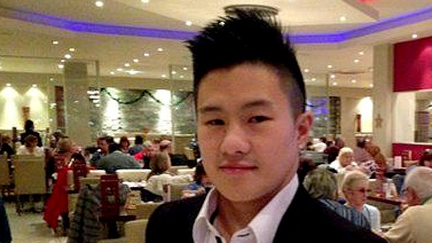 Simon Hu, is 26, and says racism is still a problem