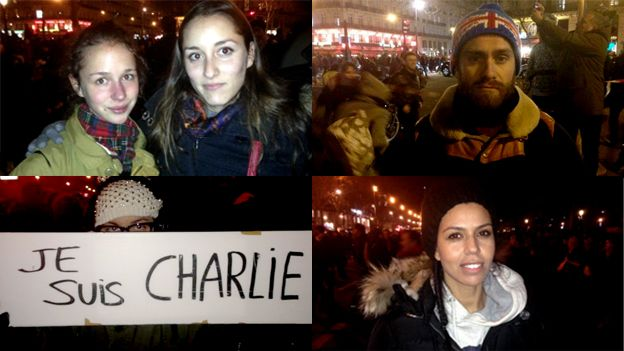 Charlie Hebdo tributes