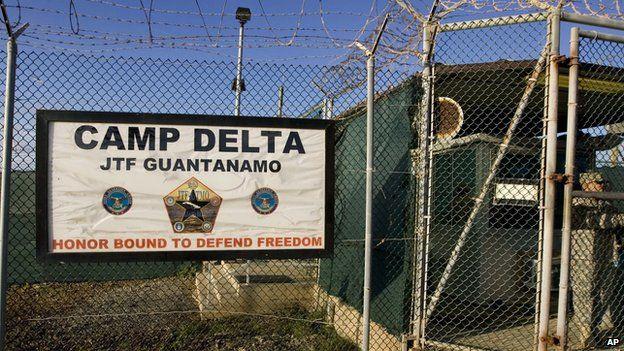 Guantanamo Bay sign