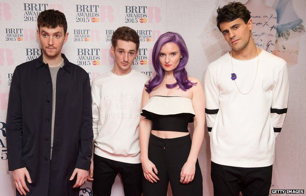 Jack Patterson, Luke Patterson, Grace Chatto and Milan Neil Amin-Smith