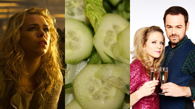 Billie Piper, cucumber and EastEnders