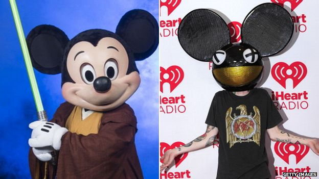 Mickey mouse and Deadmau5