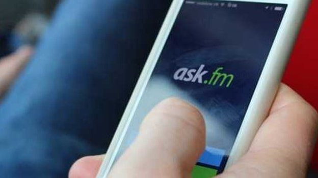 ask.fm on phone