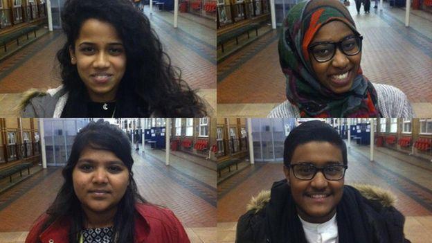 Yaseen, Asha, Memunatu and Brayani