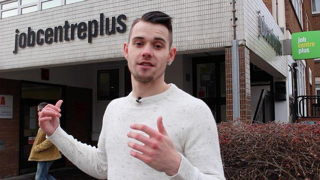Matty at the job centre