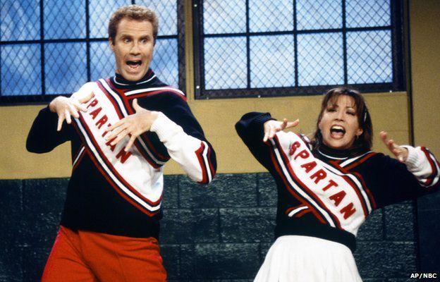 Will Ferrell and Cheri Oteri