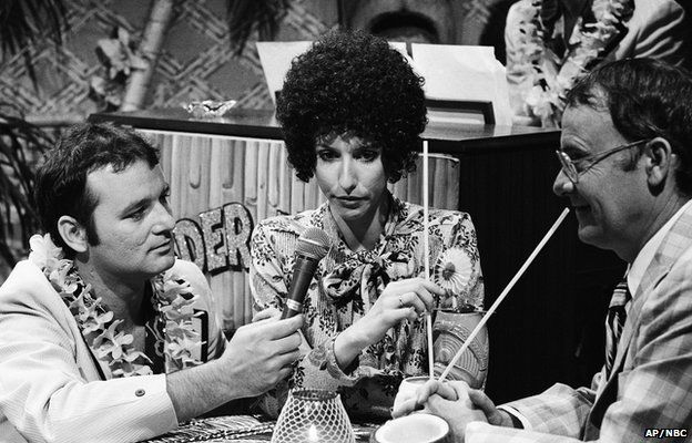 Bill Murray, Laraine Newman and Buck Henry