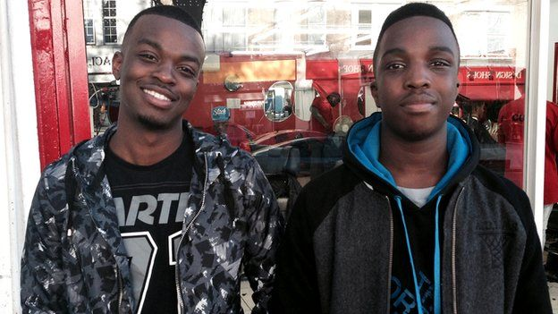 George the Poet and his brother Kenny