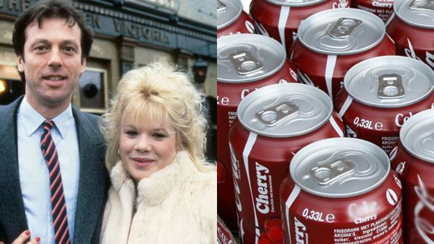 Dennis & Sharon Watts plus coke