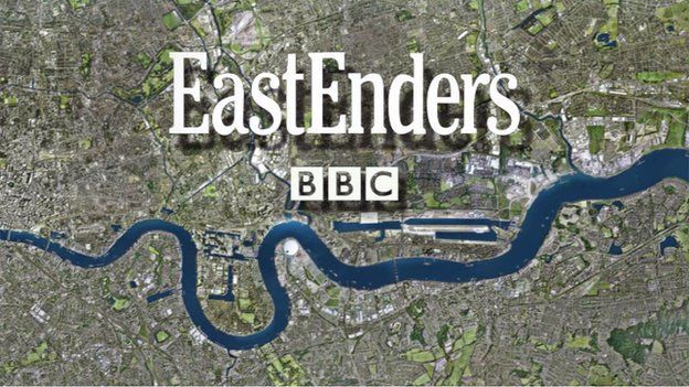 EastEnders title