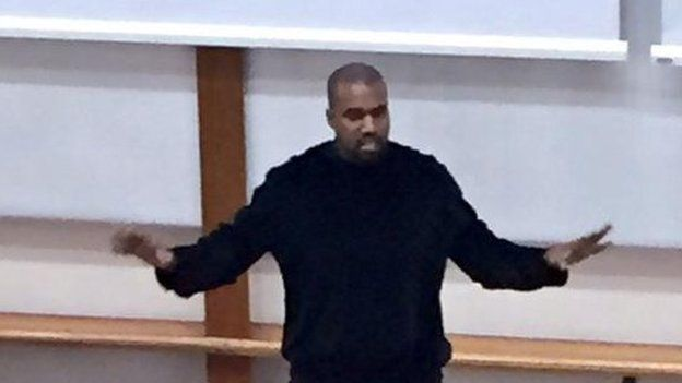 Kanye West Goes To Oxford His Best Quotes Bbc Newsbeat