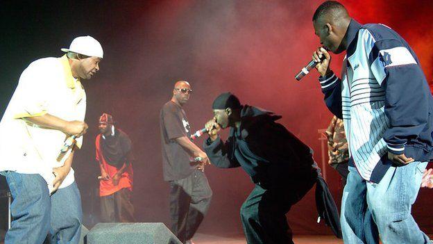 Wu-Tang Clan performing