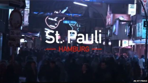 The party district of St Pauli