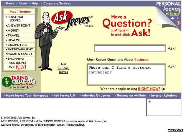 Remember Jeeves?