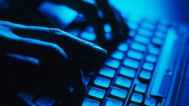Laptop keyboard (file photo)