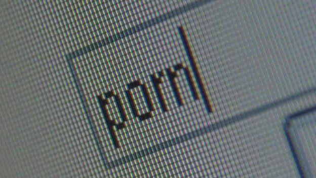 'Porn' search term