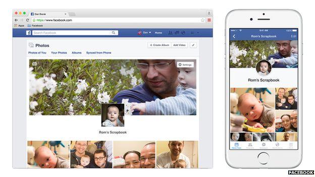 Facebook photo album