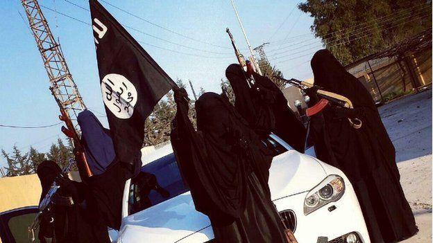 Jihadi brides being used in Islamic State propaganda