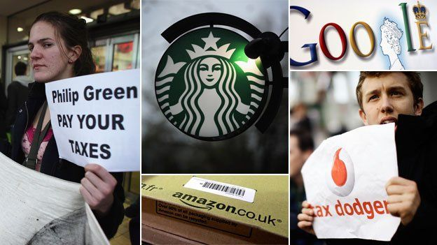 Multinationals and tax protesters