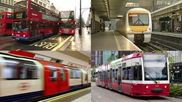 Revised business plan for London transport revealed - BBC News